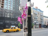 'Ghost' Memorial Goes up for Disabled Lower East Side Activist Harry Wieder