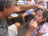 Photo Gallery: Midtown North Celebrates National Night Out with Free Face Painting and Pizza