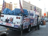 Campaign Truck Blaring Election Messages Sparks Altercation in Inwood
