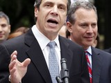Andrew Cuomo Backs Eric Schneiderman for Attorney General