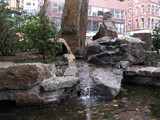Waterfall in New Financial District Park Evokes Manhattan's Native Forests