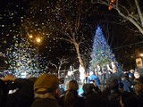Winter's Eve Showers Holiday Spirit on Lincoln Square