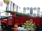 Lincoln Square Christmas Tree Kicks Off Holiday Season on Upper West Side