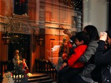Holiday Wonder on Display in Manhattan Department Store Windows