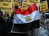 Vocal Locals Support Egyptian Uprising