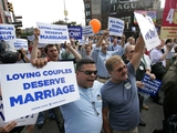 Poll Finds Record New York Support for Gay Marriage