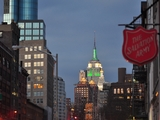 City, Empire State Building Light Up for Jets Game