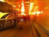Lincoln Tunnel Motorcycle Accident Injures Dozens of People
