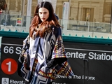 Models Turn Subway Platform Into Fashion Week Catwalk