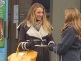 'Gossip Girl' Blake Lively Films in East Village