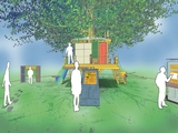 Artist Wants to Install 'Green' Treehouse on Governors Island