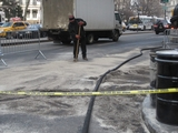 Fuel Spill Closes Part of Park Row Near City Hall