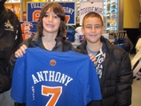 Carmelo Fever Sends Fans on Hunt for Knicks '7' Jersey