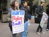 Hunter College Students Rail Against Budget Cuts, Rising Costs