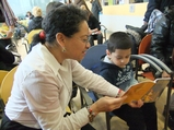 Waiting Rooms Become Reading Rooms on World Read Aloud Day