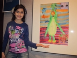 Schoolkids' Art Takes Center Stage at Midtown Gallery