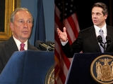 Bloomberg, Cuomo Clash Over Teacher Layoff Plans