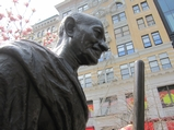 Gandhi's Glasses Stolen From Union Square Statue
