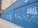 Painted-Over Obama Mural Becomes East Village Graffiti Magnet