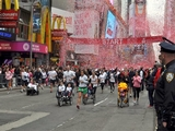 Thousands Pack Times Square for Revlon Run/Walk