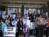 Parents Rally To Defend UWS Charter School Against Lawsuit