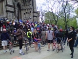 Bicycles Blessed at St. John the Divine