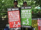 Pot Activists Rally Near Bloomberg's UES Townhouse