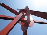 Soaring Steel Sculptures Debut On Governors Island