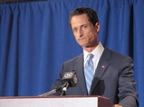 Anthony Weiner Files Letter of Resignation