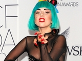 Lady Gaga Reveals Herself at Fashion Award Show