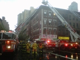Blaze Breaks Out in Basement of Second Avenue Building