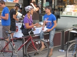 Veselka Promotes Safe Cycling in East Village