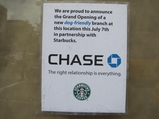Prankster Says Starbucks-Chase Branch Coming to Second Avenue