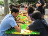 Student-Designed Lunchroom Tables Unveiled at City Parks