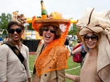 Fashionistas and Celebs Catch Polo Match on Governors Island