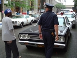 Vintage Cop Cars on Display at Police Museum