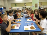Sugarcane Cafeteria Trays Help Battery Park City School Go Green