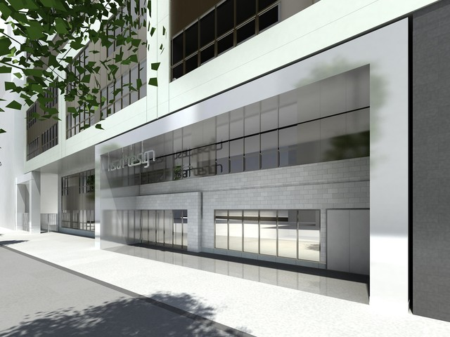The entrance for the High School of Art and Design will be on East 56th Street when the new educational devlopment at 250 East 57th Street in September 2012.