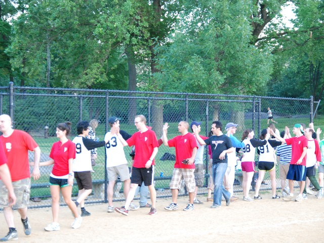 Despite Vanity Fair's landslide win, media softball is always played in good fun — with just a hint of rivalry.