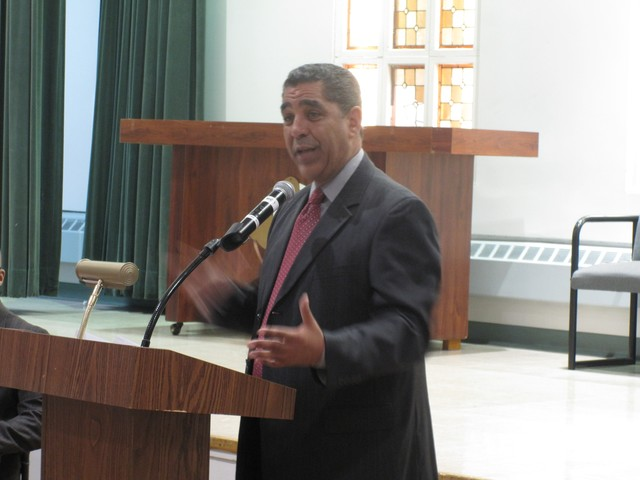 Espailllat told tenants who attended the May 19th meeting that his office was committed to stopping tenant harassment in Northern Manhattan.