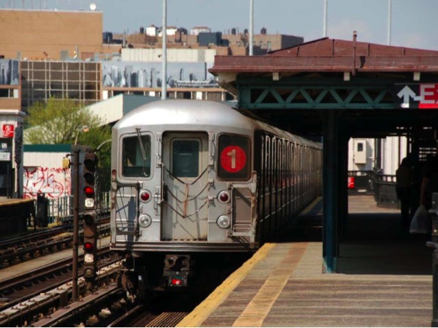 The renovation of the 1 train station at Dyckman Street will take almost two years to complete.
