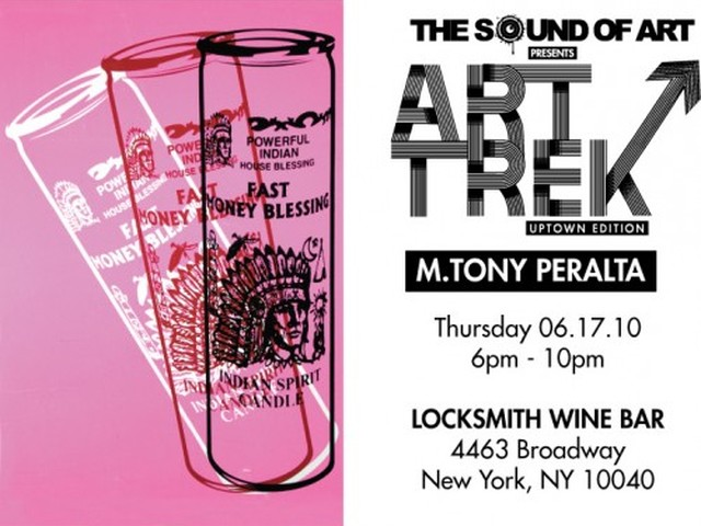 An Art Trek: Uptown flier for Thursday night's event.