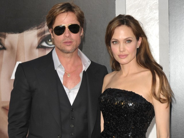 Hollywood all-stars, Brad Pitt and Angelina Jolie, attended the