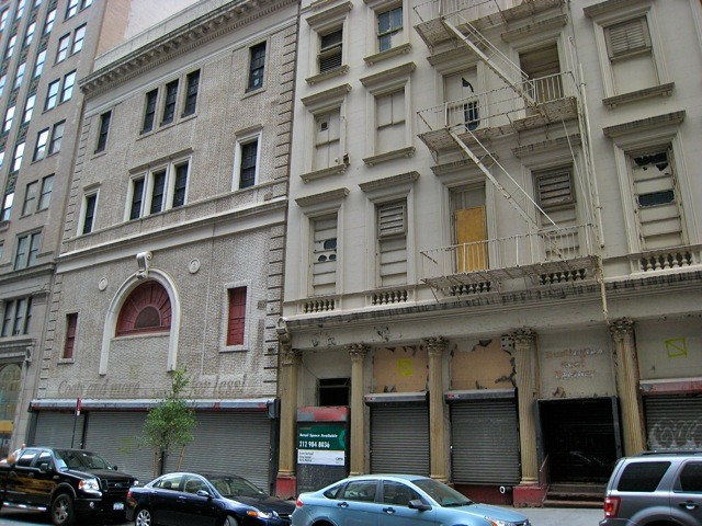 The Landmarks Preservation Commission voted Tuesday morning that 45-47 Park Place is not worth landmark status.