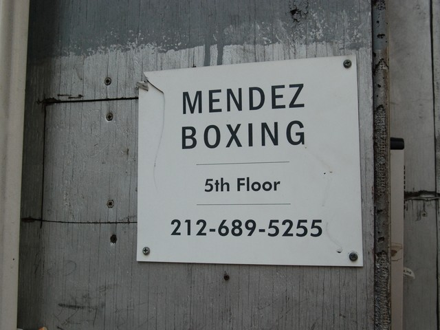 Mendez boxing is about to open its third Midtown location.