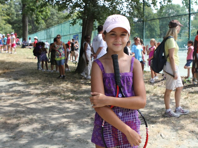 Upper West Side resident Antonia Stefanesco, 12, played for the Central Park team.