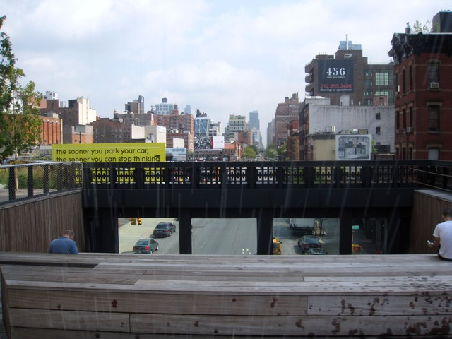 Guided tours of the High Line will also feature into the Whitney's community day on Saturday.