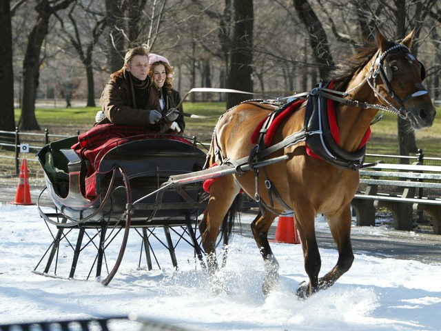 ... the hit HBO series 'Sex and the City' in Central Park in December 2003.