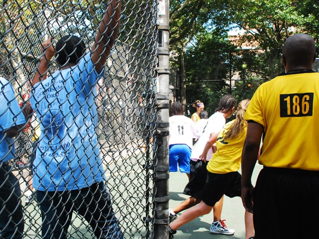 The Greenwich Village Youth Council runs the West Fourth Street Basketball Championships in the world famous Cage.
