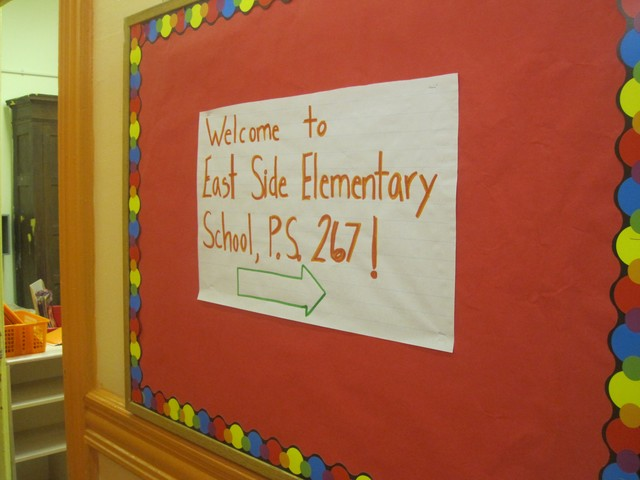 The new P.S. 267, which will start with three classes of kindergarteners, will be called East Side Elementary School.